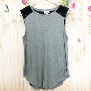 Old Navy Tops - 4/$25 Old Navy Sleeveless Gray Tank